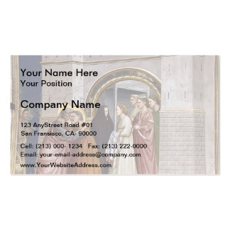 Giotto: The Meeting at the Golden Gate Business Cards