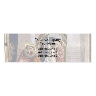 Giotto: The Meeting at the Golden Gate Business Card