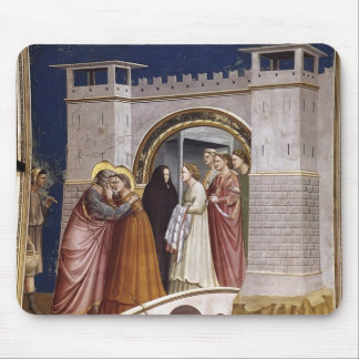 Giotto The Meeting at the Golden Gate Mousepad