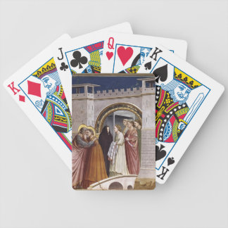Giotto: The Meeting at the Golden Gate Playing Cards