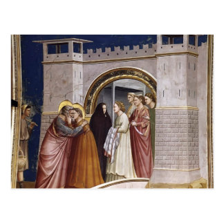 Giotto: The Meeting at the Golden Gate Postcard