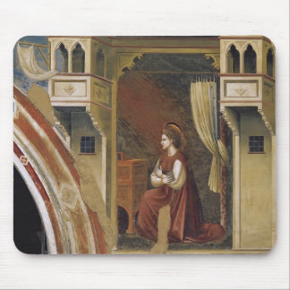 Giotto The Virgin Receiving the Message Mousepad