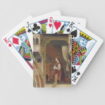 Giotto: The Virgin Receiving the Message Bicycle Playing Cards
