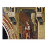 Giotto: The Virgin Receiving the Message Postcards