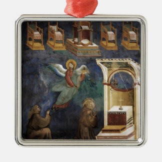 Giotto: The Vision of the Thrones Christmas Ornament