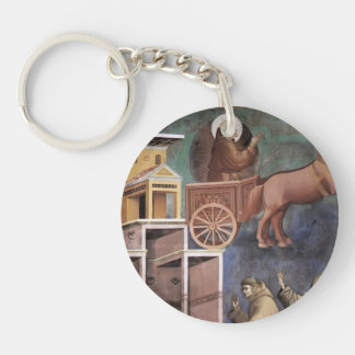 Giotto: Vision of the Flaming Chariot Acrylic Keychains