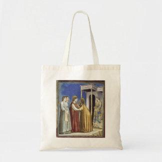Giotto: Visitation Bolsa De Mano