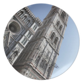 Giotto's Bell Tower and Santa Maria del Fiore Dinner Plate