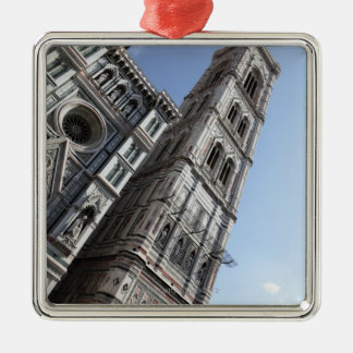 Giotto's Bell Tower and Santa Maria del Fiore Metal Ornament