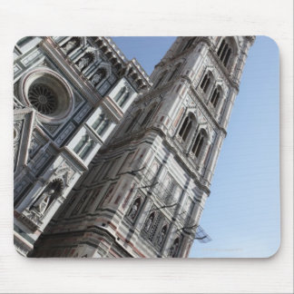 Giotto's Bell Tower and Santa Maria del Fiore Mouse Pad
