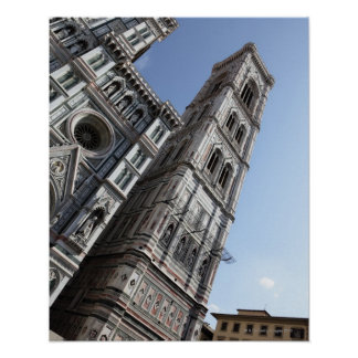 Giotto's Bell Tower and Santa Maria del Fiore Poster
