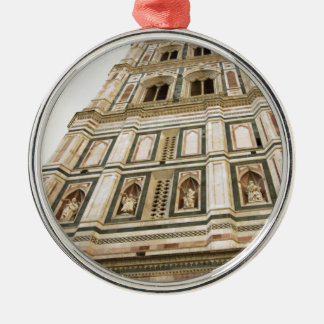 Giotto's Bell tower Metal Ornament