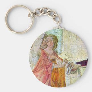 Giovanna degli Albizzi with Venus and the Graces b Keychain