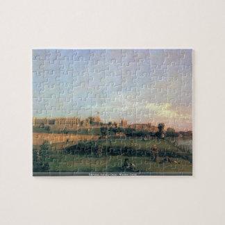 Giovanni Antonio Canal - Windsor Castle Puzzle