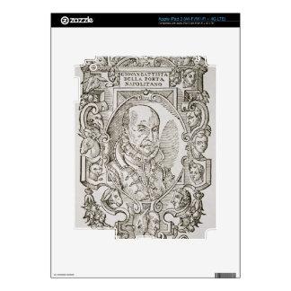 Giovanni Battista della Porta (1535-1615) from his Decal For iPad 3