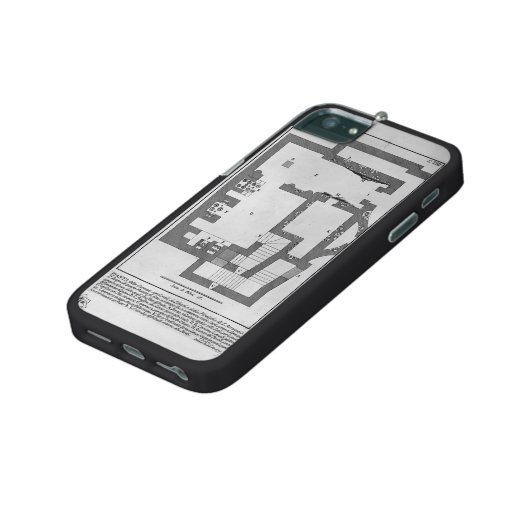 Giovanni Battista Piranesi-Entry of burial chamber iPhone 5/5S Covers