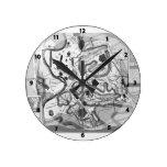 Giovanni Battista Piranesi- The Roman antiquities Round Clock