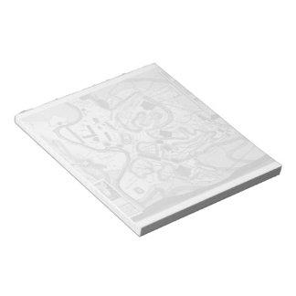 Giovanni Battista Piranesi- The Roman antiquities Memo Notepad