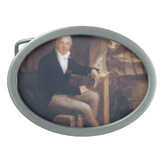 Giovanni Battista Sommariva by Pierre Prud'hon Oval Belt Buckles