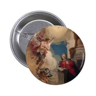 Giovanni Battista Tiepolo- Annunciation Pinback Buttons
