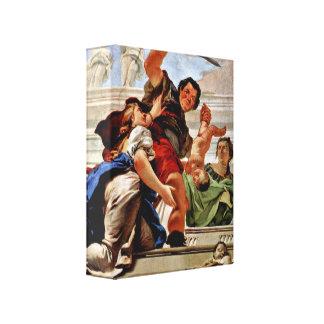 Giovanni Battista Tiepolo - Judgement of Solomon Canvas Prints