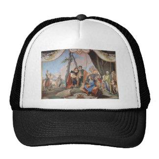Giovanni Battista Tiepolo: Rachel Hiding the Idols Mesh Hat