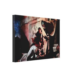 Giovanni Battista Tiepolo - Repudiation of Hagar Canvas Print