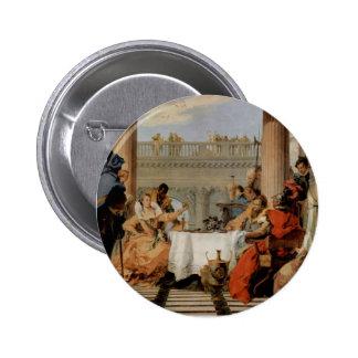 Giovanni Battista Tiepolo-The Banquet of Cleopatra Button