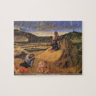 Giovanni Bellini - Christ At the Mount of Olives p Jigsaw Puzzle