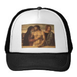 Giovanni Bellini- Dead Christ Supported by Madonna Hats