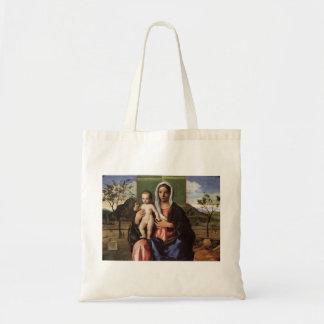 Giovanni Bellini- Madonna and Child Canvas Bag