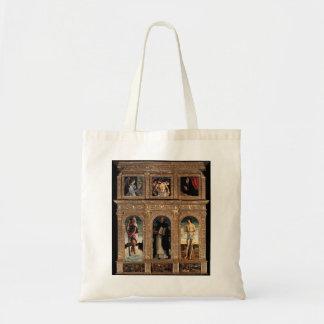 Giovanni Bellini-Polyptych of San Vincenzo Ferreri Canvas Bag