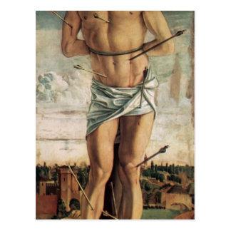 Giovanni Bellini-Polyptych of San Vincenzo Ferreri Postcard