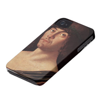 Giovanni Bellini- Portrait of a Humanist Case-Mate iPhone 4 Cases