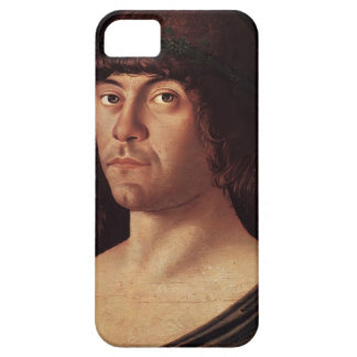 Giovanni Bellini- Portrait of a Humanist iPhone 5 Covers