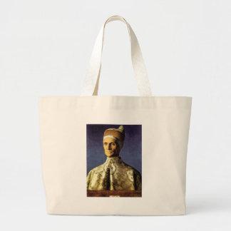 Giovanni Bellini Portrait of Doge Leonardo Loredan Canvas Bag