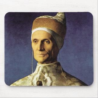 Giovanni Bellini Portrait of Doge Leonardo Loredan Mousepads