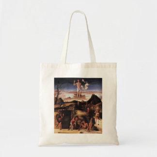 Giovanni Bellini- Resurrection of Christ Tote Bag