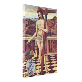 Giovanni Bellini - The blood of the Redeemer Canvas Print