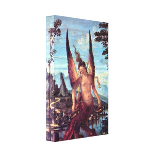 Giovanni Bellini - The Virtue Gallery Wrapped Canvas