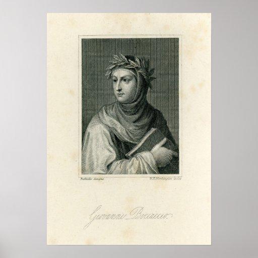 Giovanni Boccaccio Print