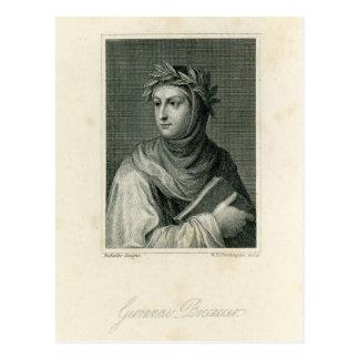 Giovanni Boccaccio Tarjetas Postales
