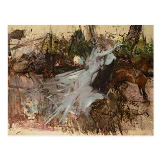 Giovanni Boldini- A Midsummer Night's Dream Postcard