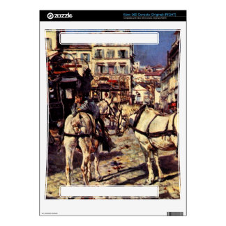 Giovanni Boldini - Buses on the Pigalle place in P Decal For The Xbox 360