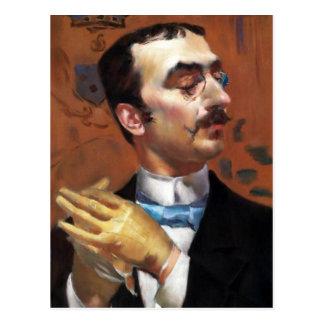 Giovanni Boldini - by Toulouse Lautrec Postcard