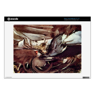 Giovanni Boldini - Grey game Acer Chromebook Decal