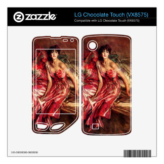 Giovanni Boldini - Lady in Red LG Chocolate Touch Skins
