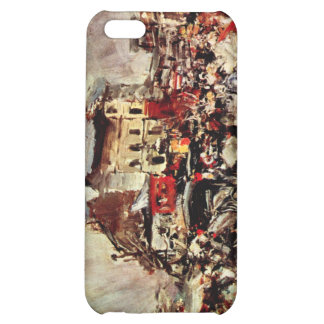 Giovanni Boldini - Outcome of a masked ball in Mon Case For iPhone 5C