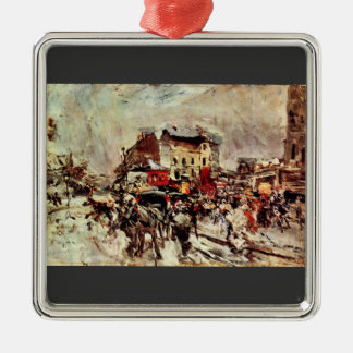 Giovanni Boldini - Outcome of a masked ball in Mon Christmas Tree Ornament