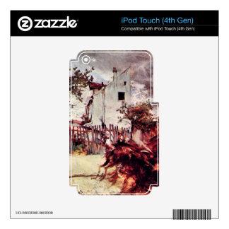 Giovanni Boldini - Outskirts of Paris iPod Touch 4G Skin